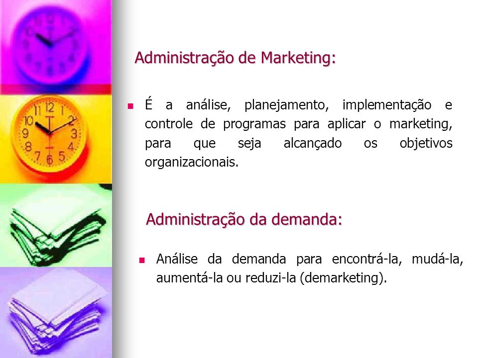 Administração de Marketing:
