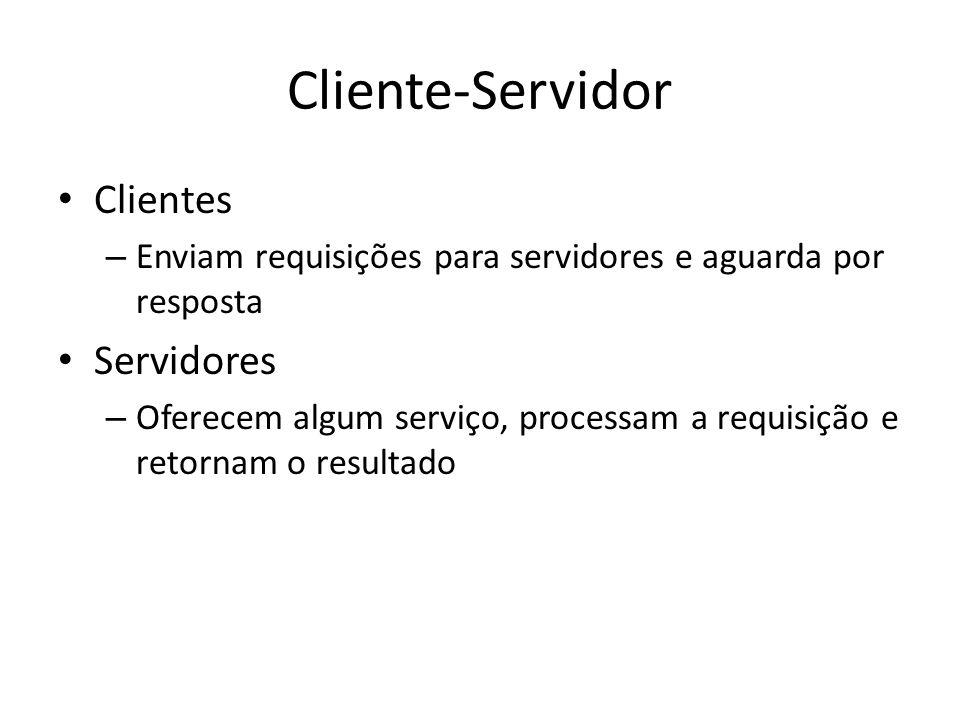 Cliente-Servidor Clientes Servidores