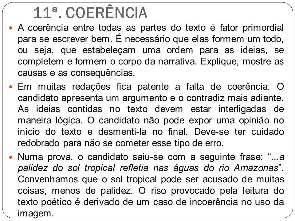 11ª. COERÊNCIA