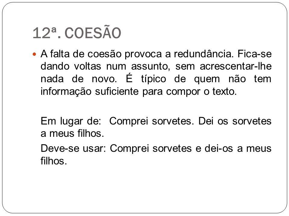 12ª. COESÃO