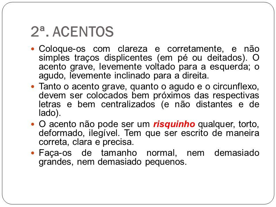 2ª. ACENTOS
