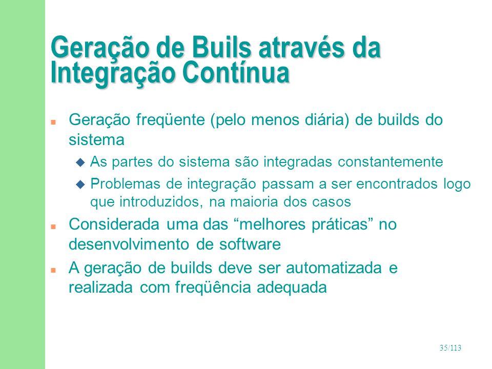 Geração de Buils através da Integração Contínua