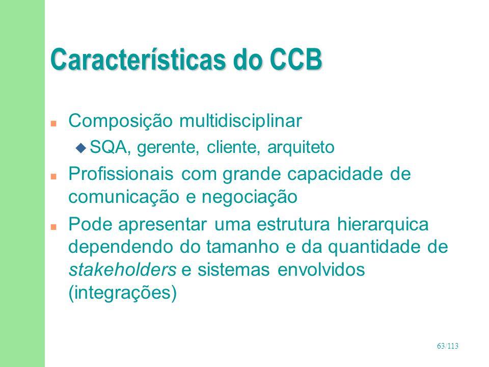 Características do CCB