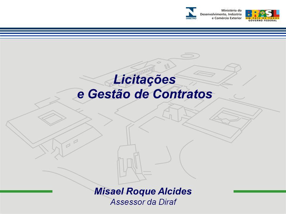 Licitações e Gestão de Contratos