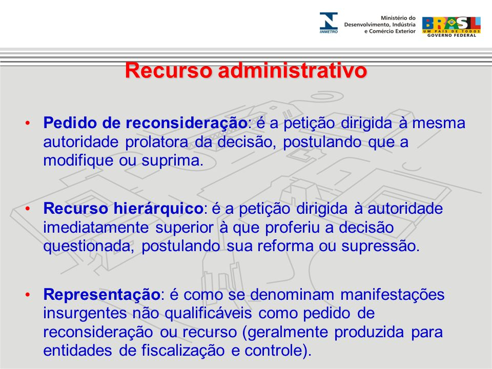 Recurso administrativo