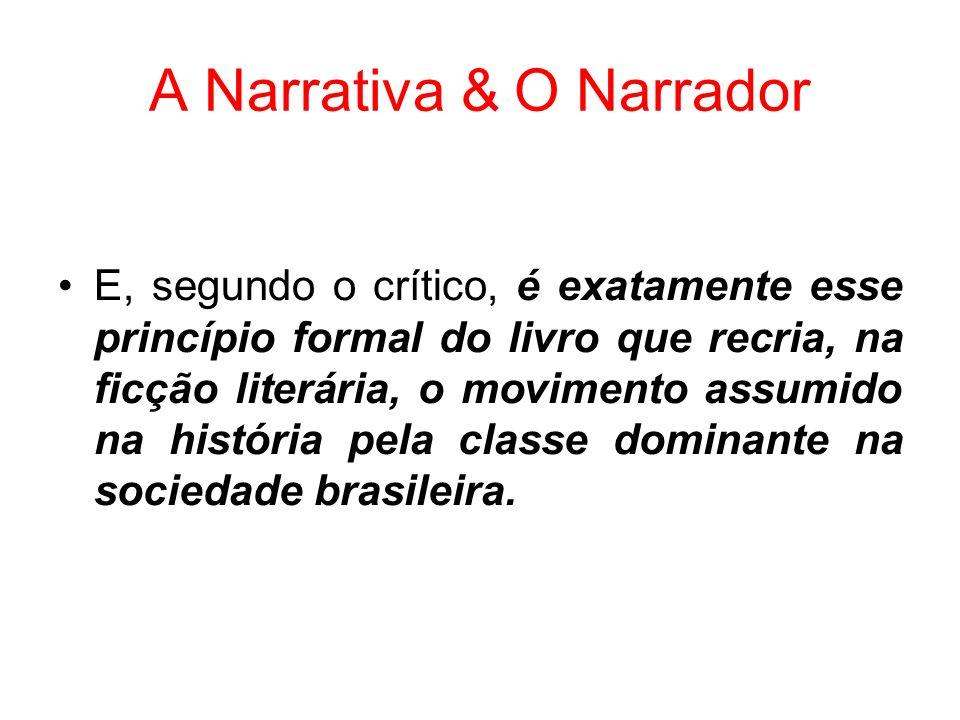 A Narrativa & O Narrador
