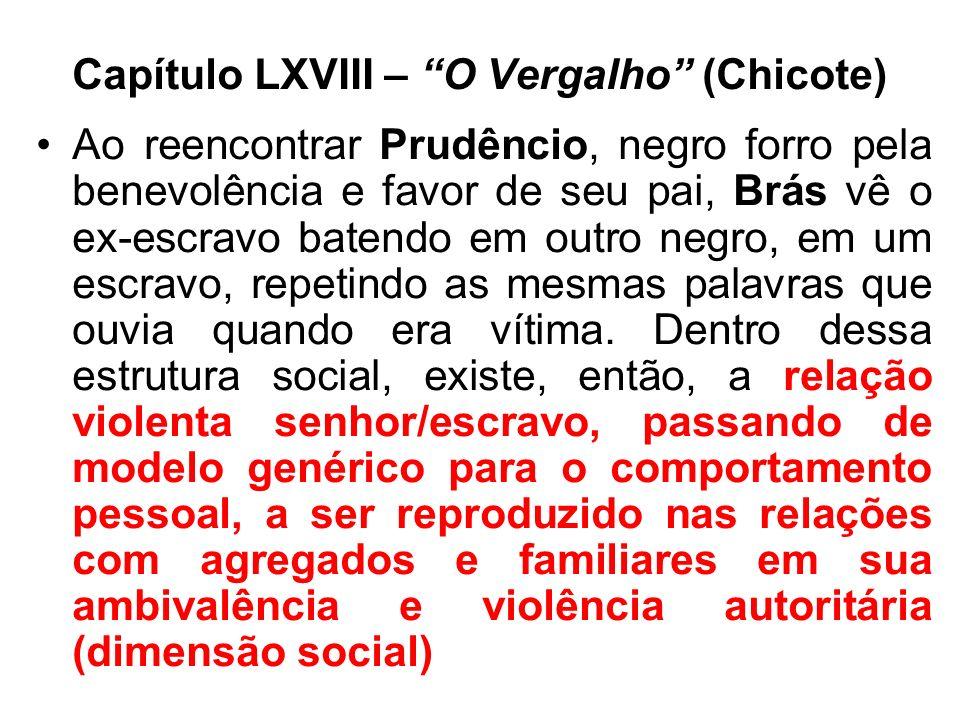 Capítulo LXVIII – O Vergalho (Chicote)