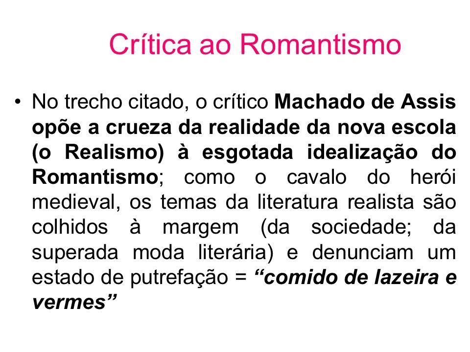 Crítica ao Romantismo