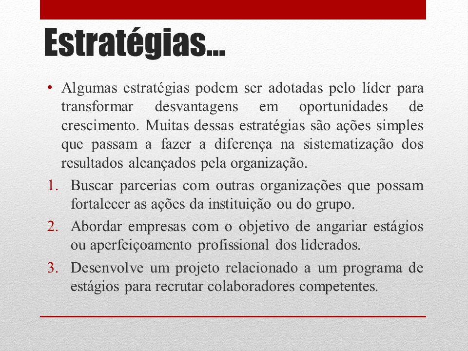 Estratégias...