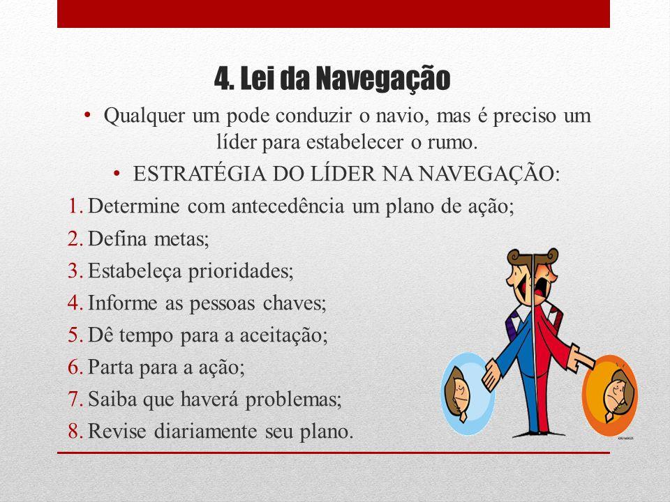 ESTRATÉGIA DO LÍDER NA NAVEGAÇÃO:
