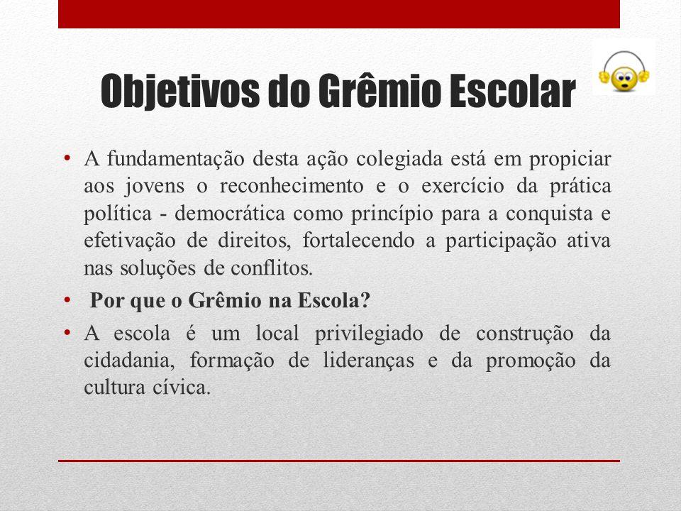 Objetivos do Grêmio Escolar