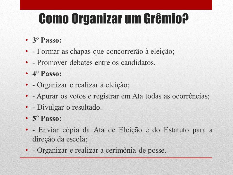 Como Organizar um Grêmio