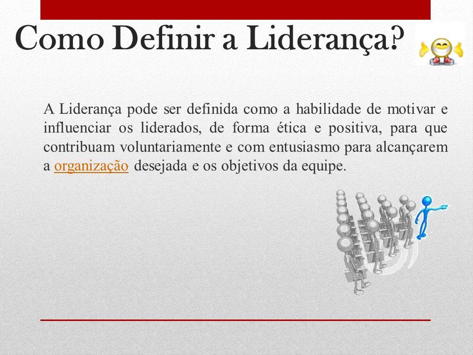 Como Definir a Liderança