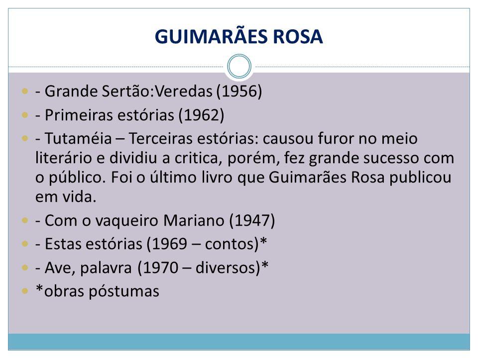 GUIMARÃES ROSA - Grande Sertão:Veredas (1956)