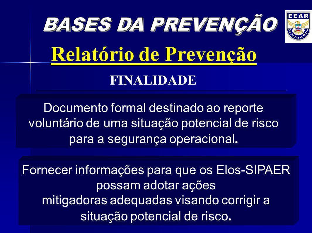 Relatório de Prevenção