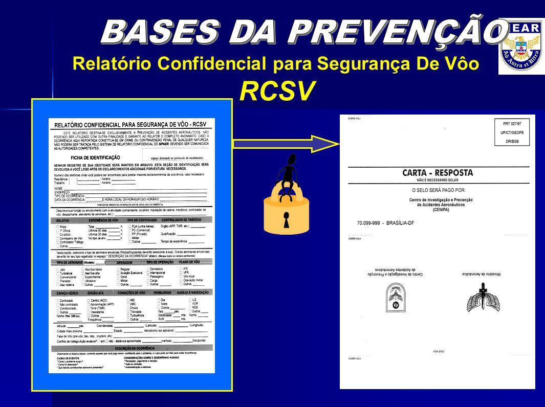 Relatório Confidencial para Segurança De Vôo