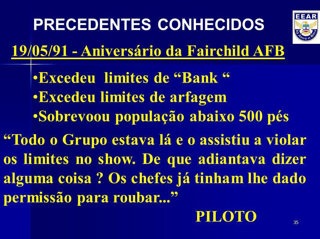 PRECEDENTES CONHECIDOS