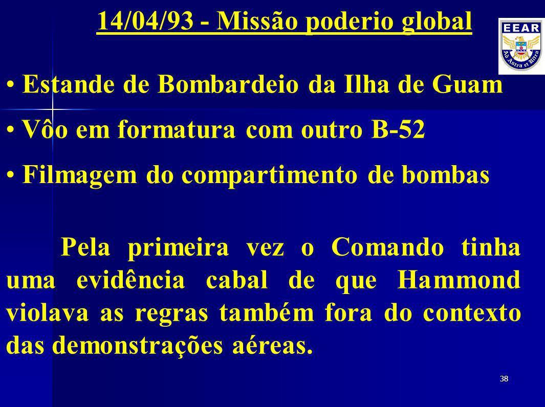14/04/93 - Missão poderio global