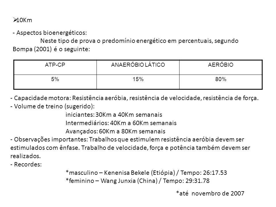 - Aspectos bioenergéticos: