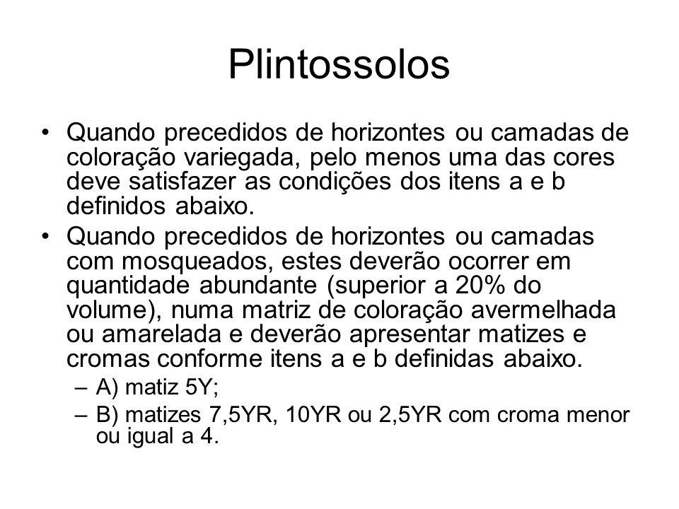 Plintossolos