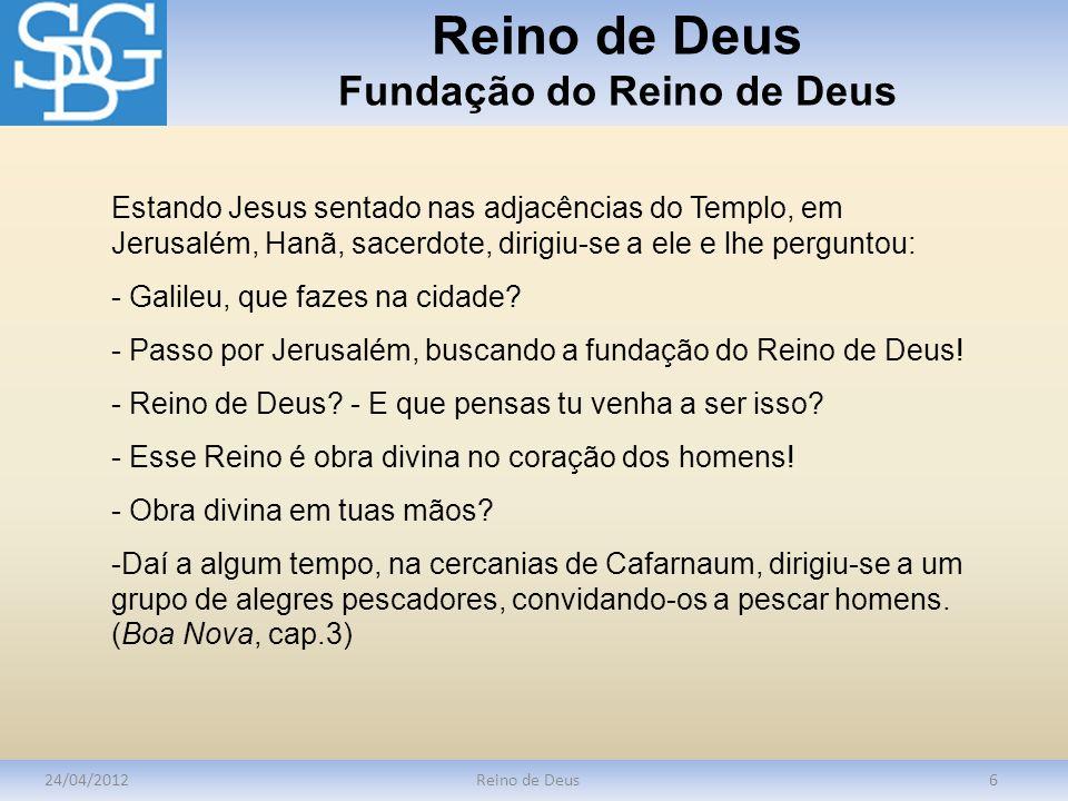 Reino de Deus Fundação do Reino de Deus