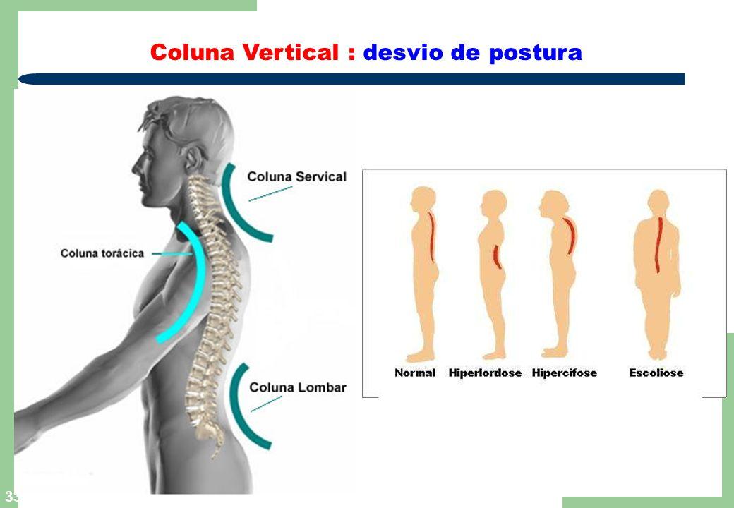 Coluna Vertical : desvio de postura
