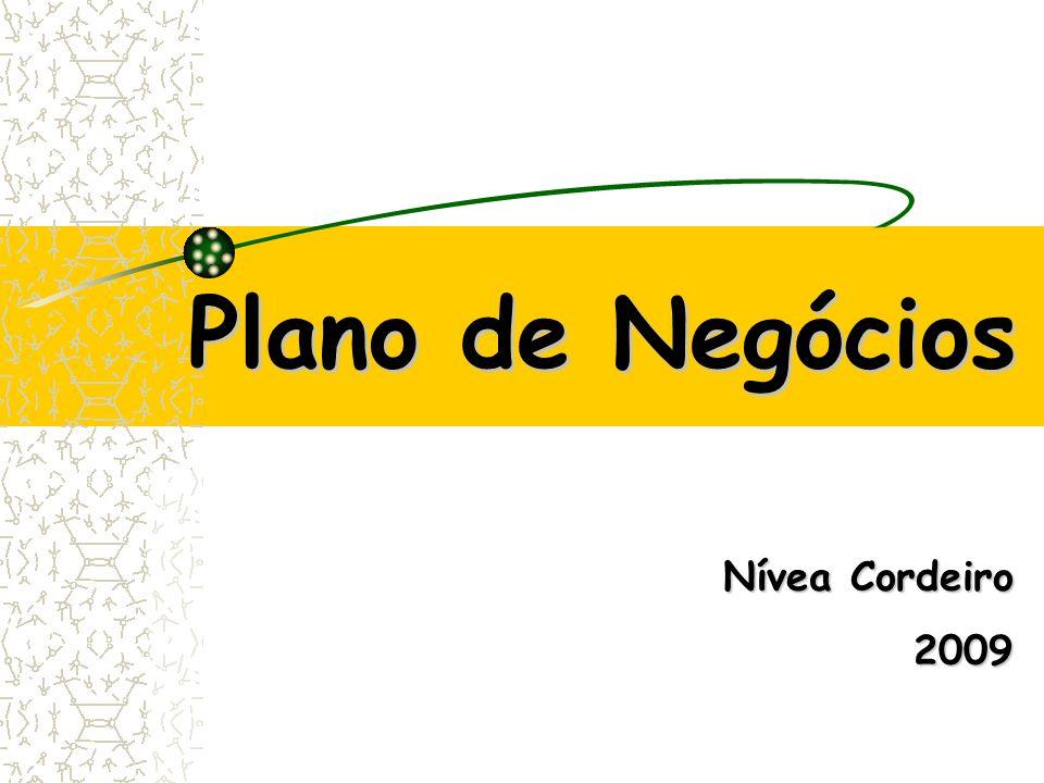 Plano de Negócios Nívea Cordeiro 2009