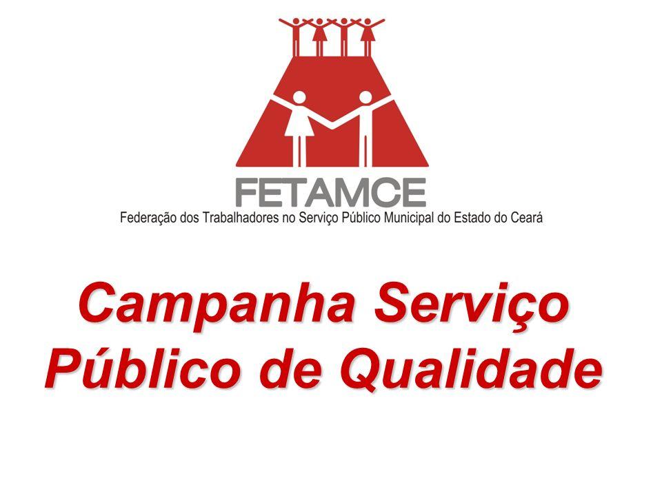 Campanha Serviço Público de Qualidade