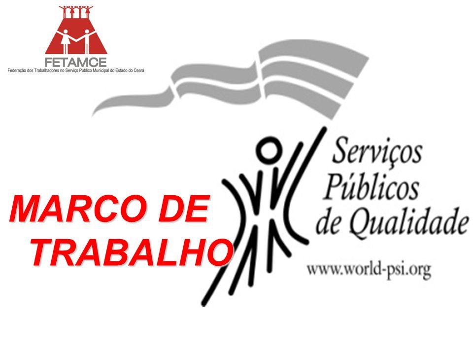 MARCO DE TRABALHO