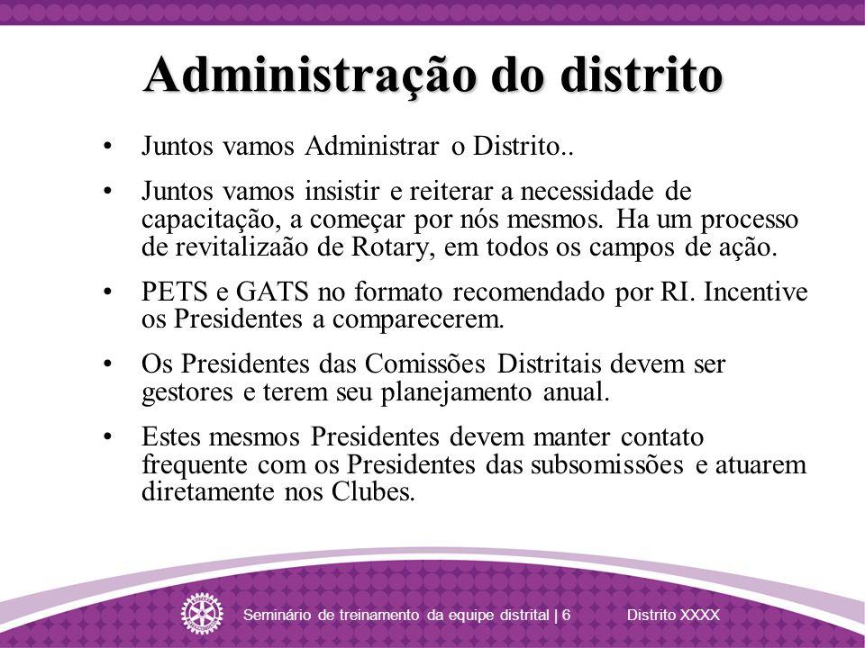 Administração do distrito