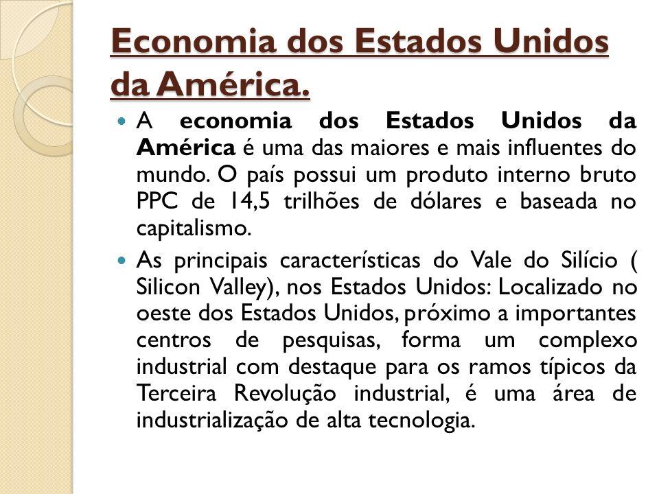 Economia dos Estados Unidos da América.