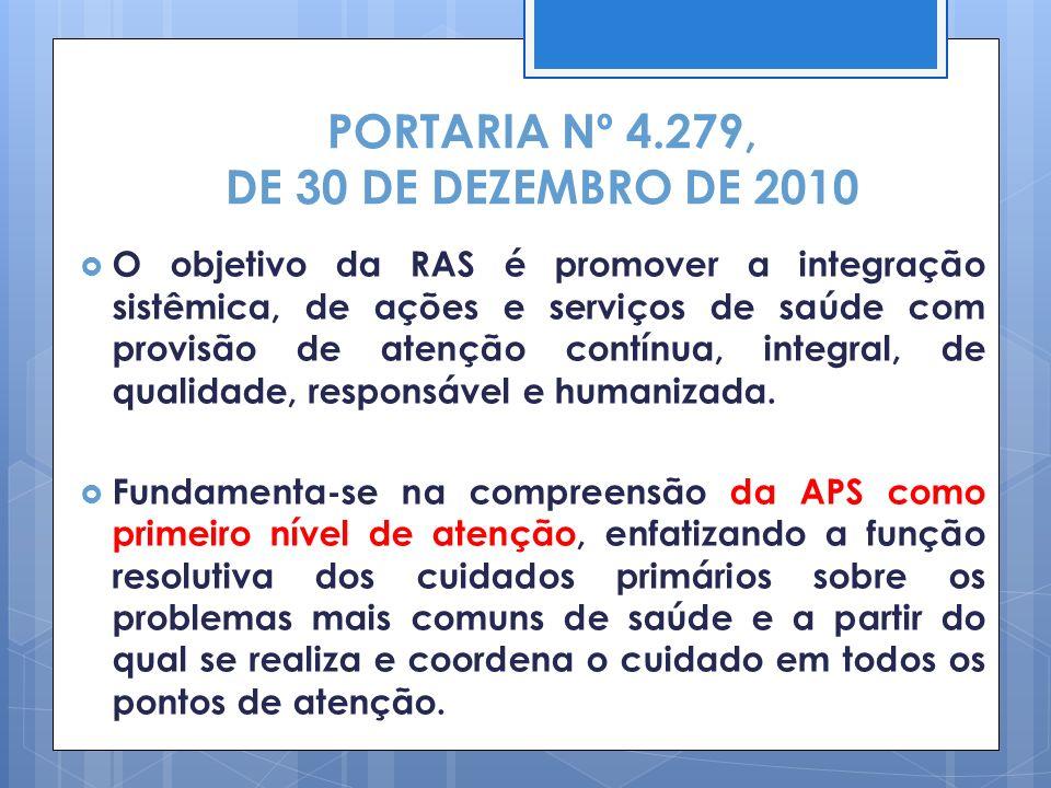PORTARIA Nº 4.279, DE 30 DE DEZEMBRO DE 2010