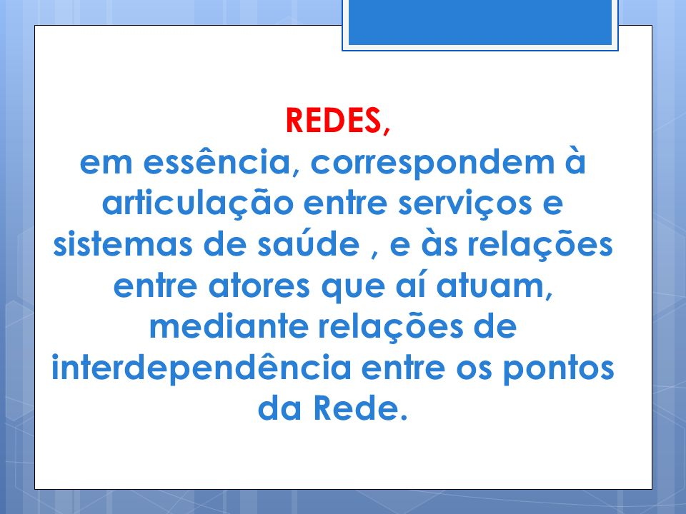 REDES,