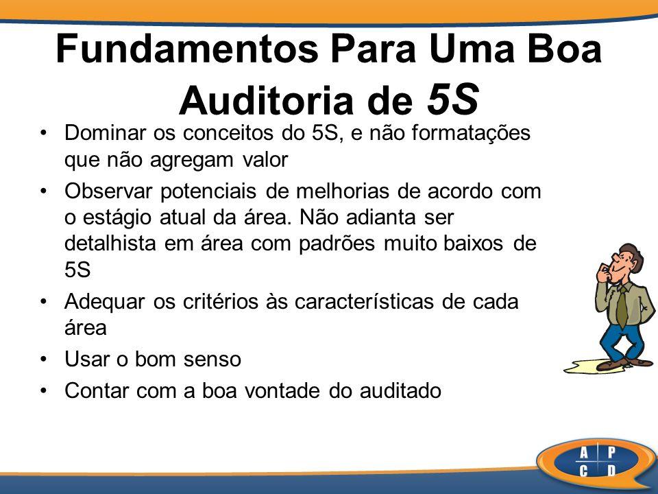 Fundamentos Para Uma Boa Auditoria de 5S