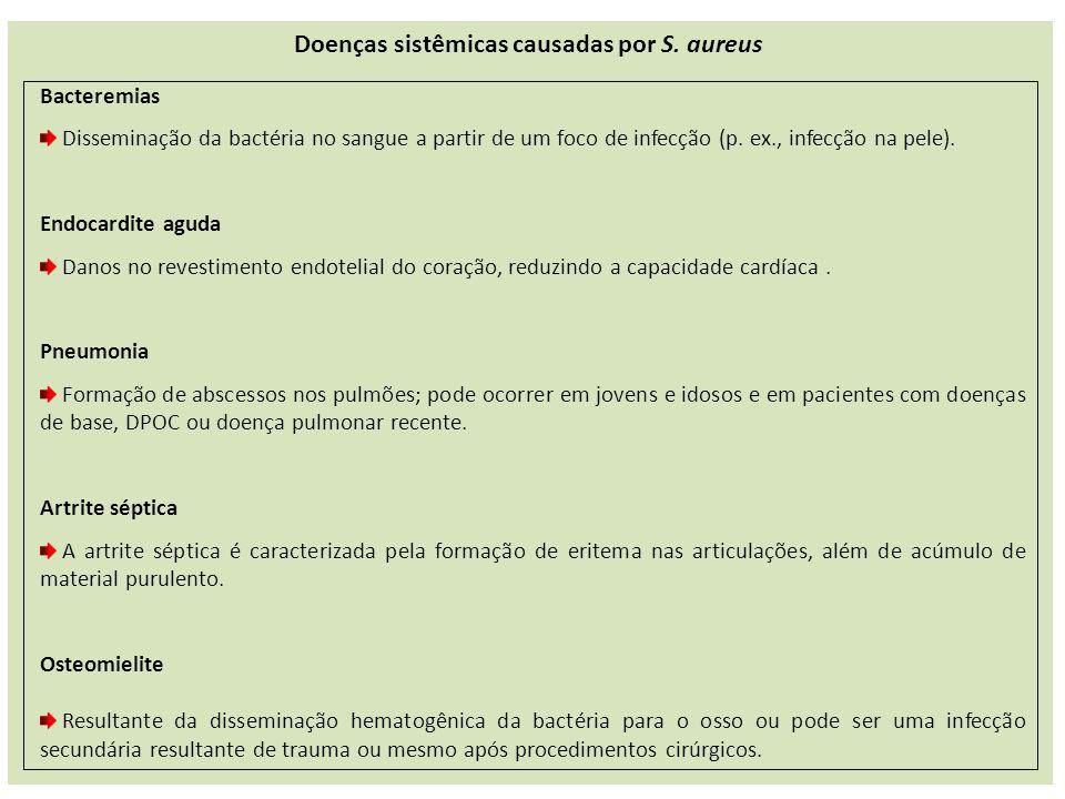 Doenças sistêmicas causadas por S. aureus
