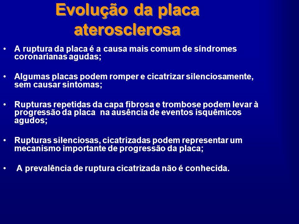 Evolução da placa aterosclerosa