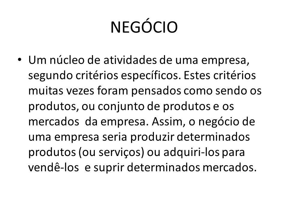 NEGÓCIO