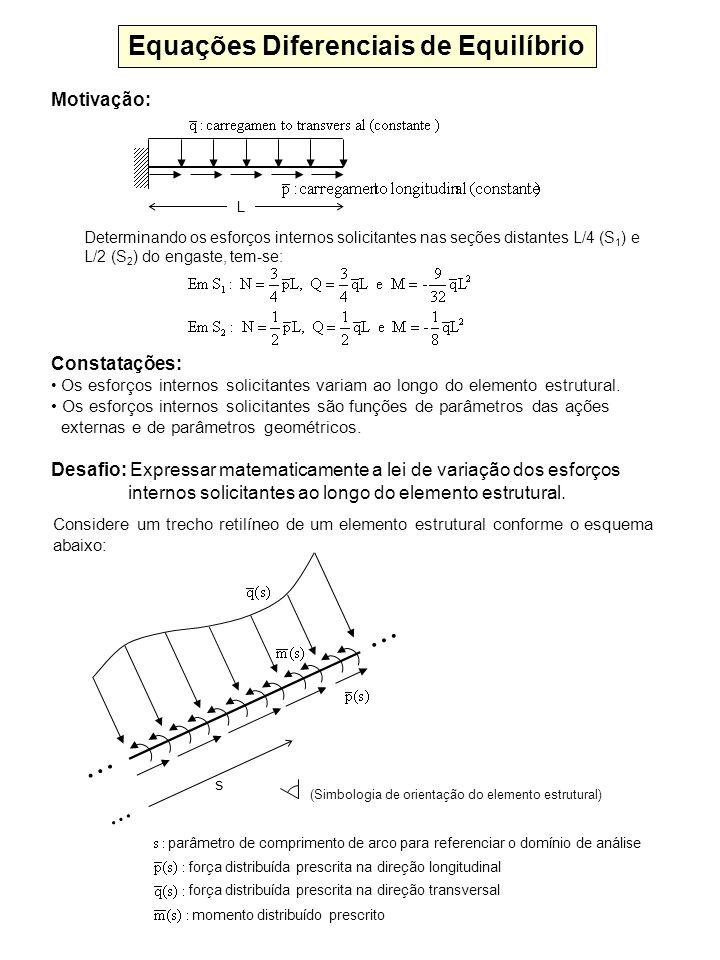 Equações Diferenciais de Equilíbrio