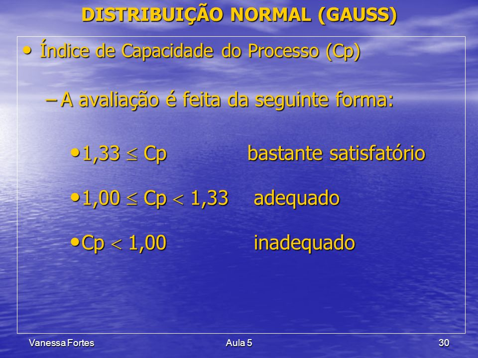 DISTRIBUIÇÃO NORMAL (GAUSS)