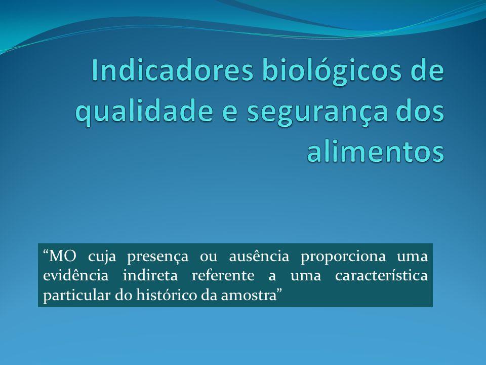 Indicadores biológicos de qualidade e segurança dos alimentos