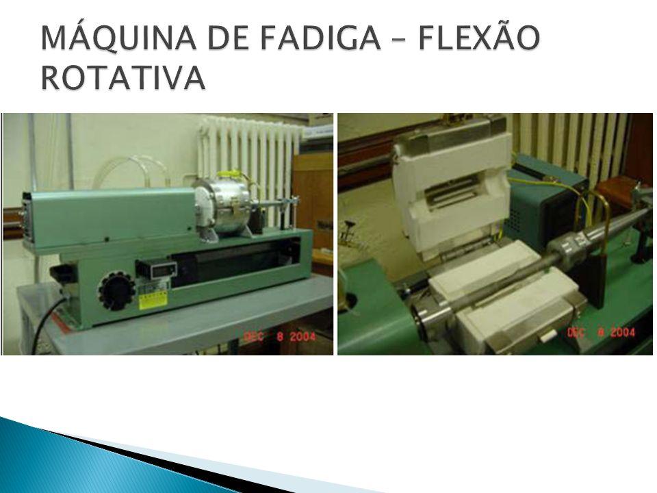 MÁQUINA DE FADIGA – FLEXÃO ROTATIVA