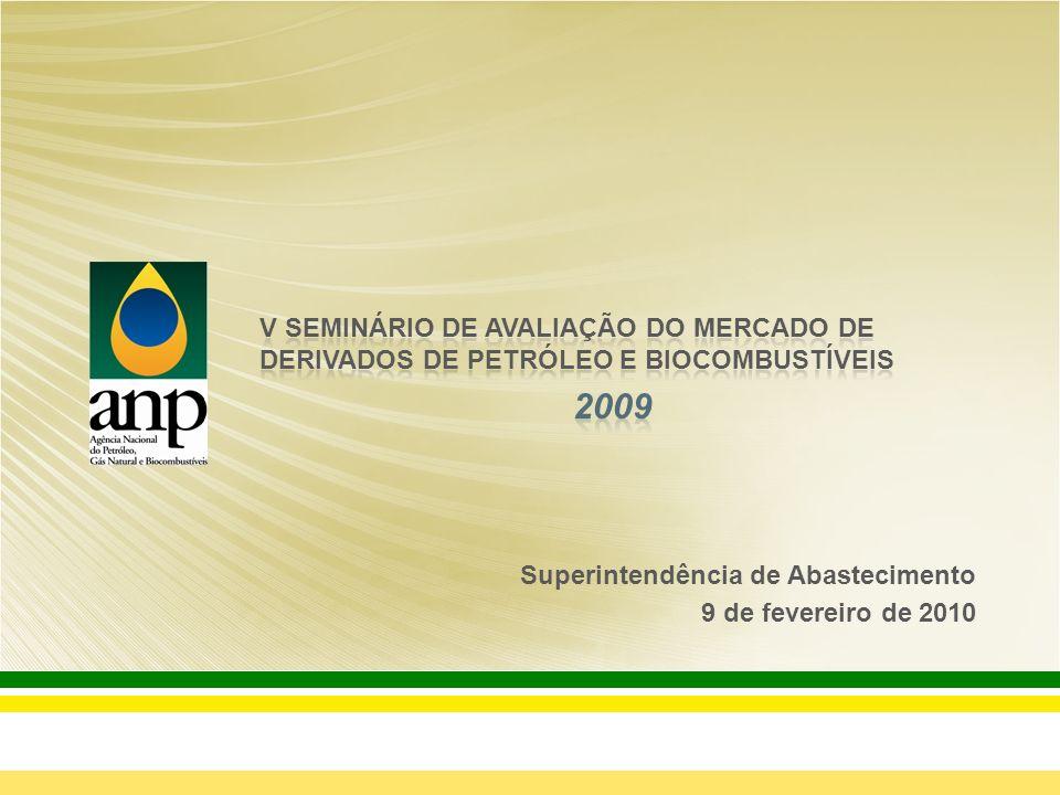 V SEMINÁRIO DE AVALIAÇÃO DO MERCADO DE DERIVADOS DE PETRÓLEO E BIOCOMBUSTÍVEIS