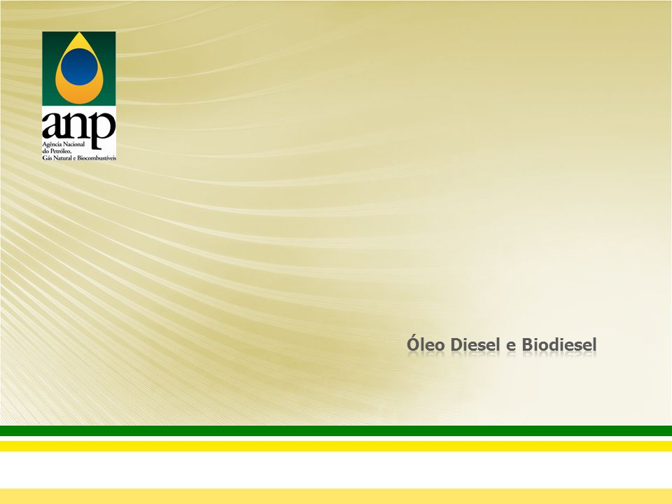 Óleo Diesel e Biodiesel