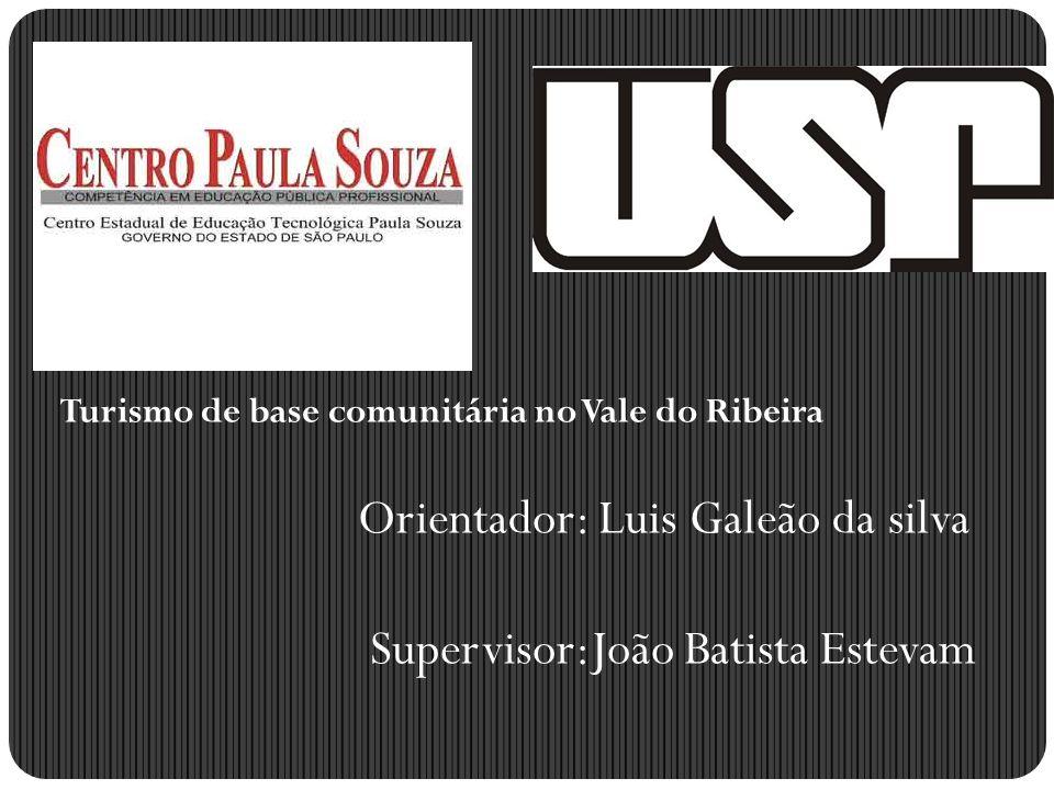 Orientador: Luis Galeão da silva Supervisor:João Batista Estevam