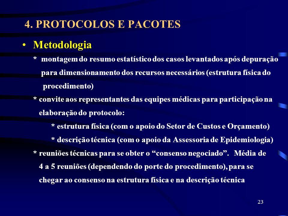 4. PROTOCOLOS E PACOTES Metodologia