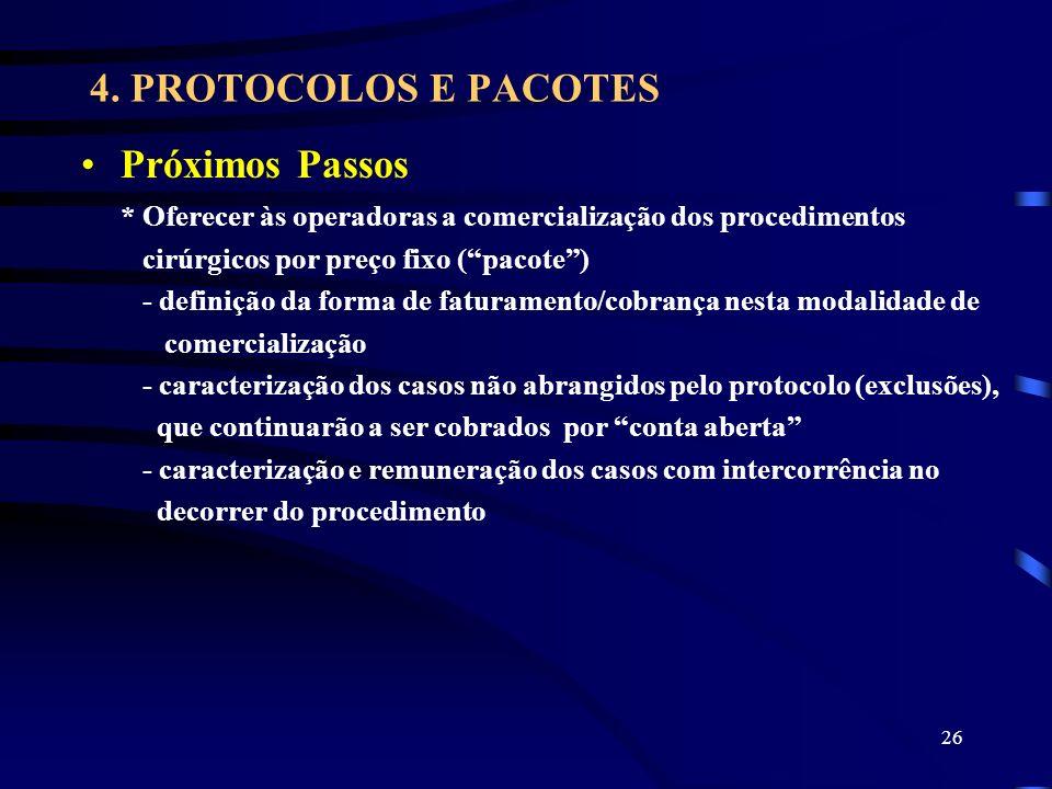 4. PROTOCOLOS E PACOTES Próximos Passos