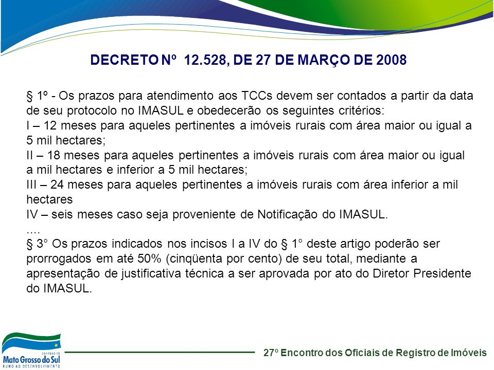 DECRETO Nº 12.528, DE 27 DE MARÇO DE 2008