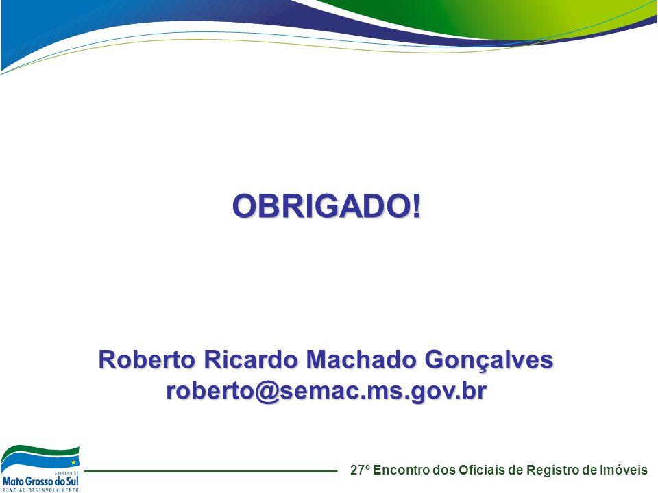 Roberto Ricardo Machado Gonçalves