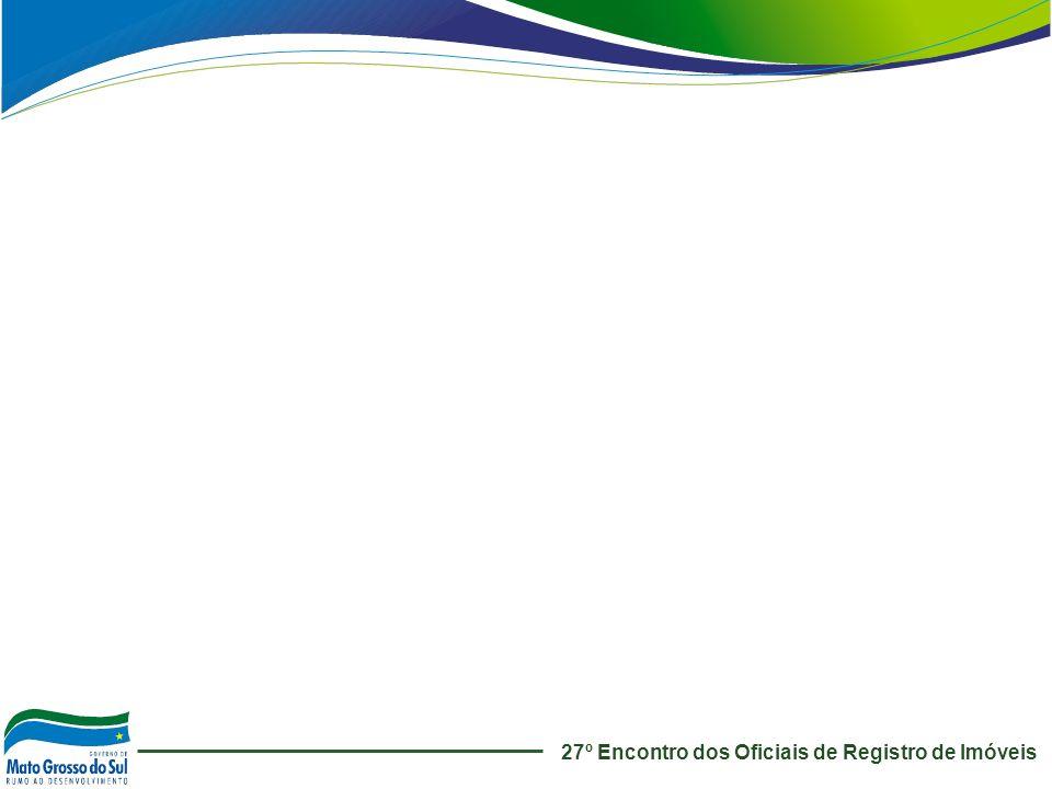 27º Encontro dos Oficiais de Registro de Imóveis