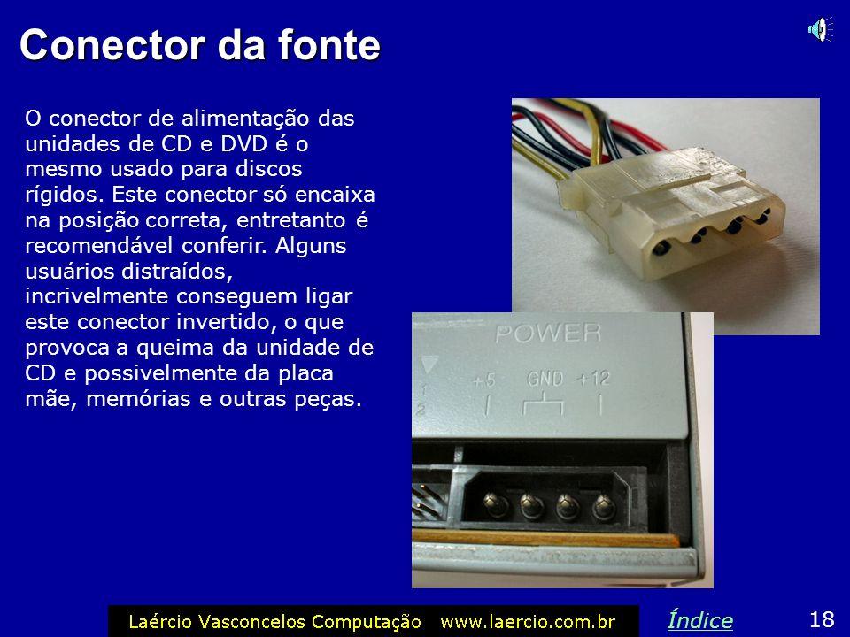Conector da fonte